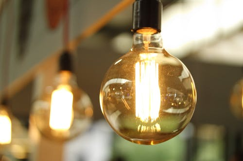 bulb while the lights are on